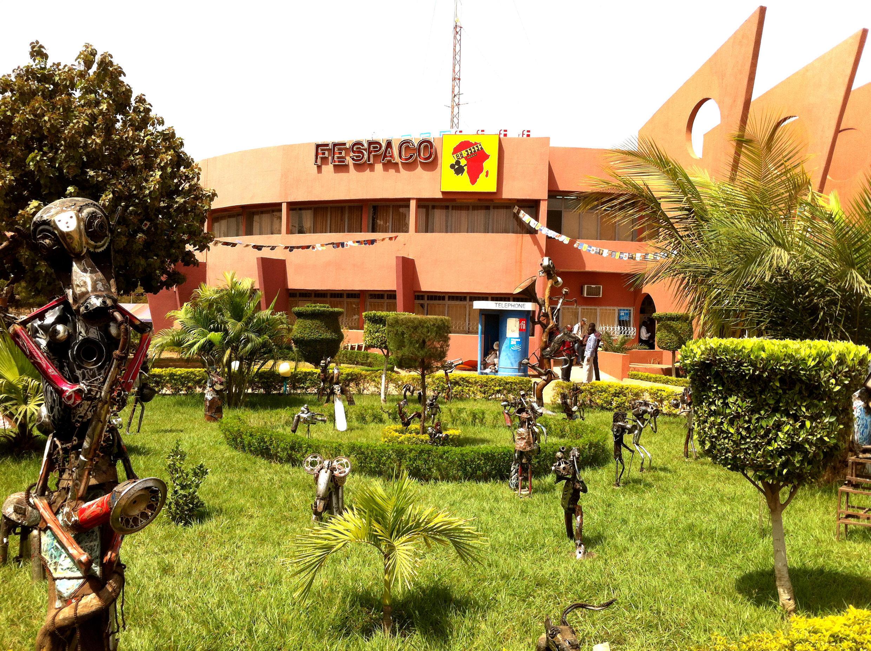 Le siège du Fespaco, à Ouagadougou, le plus grand festival de cinéma et de télévision en Afrique.