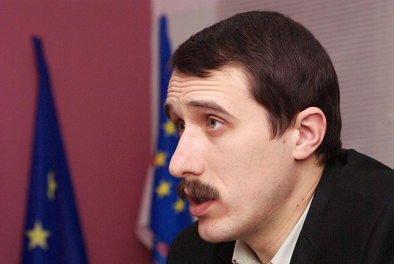 Белорусский оппозиционнер Павел Северинец