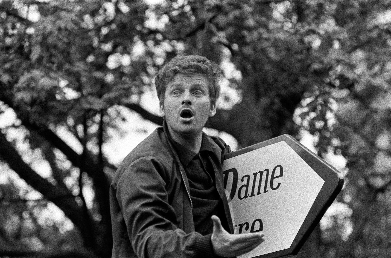 Aos 23 anos, Daniel Cohn-Bendit se tornou o ícone de Maio de 68.