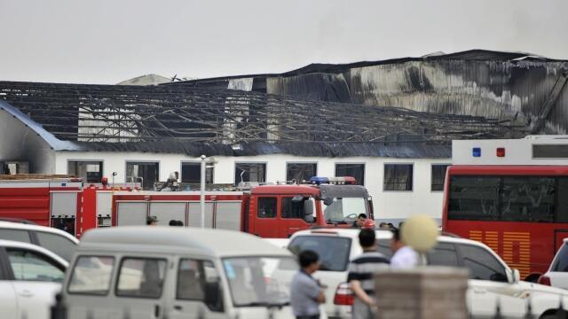 Pelo menos 119 pessoas morreram no incêndio de um matadouro de aves, no nordeste da China, na província de Jilin.