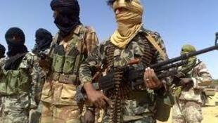 Wanamgambo wa Tuareg wakiwa katika Operesheni zao kaskazini mwa Mali