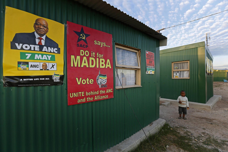 Cape Town's Khayelitsha township, 2 May 2014.