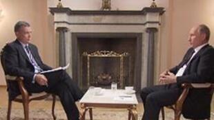 Первое интервью В. Путина после выборов на Russia Today