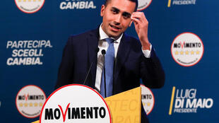 Luigi Di Maio, leader of Italy's Five Star Movement, during a campaign event ahead of the election that saw his party win a third of the popular vote..