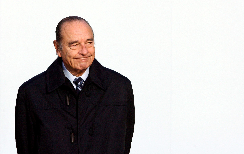 Jacques Chirac à Cannes, le 15 février 2007.
