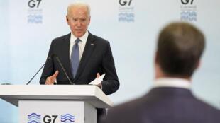 G7 - Joe Biden - AP21164526785289