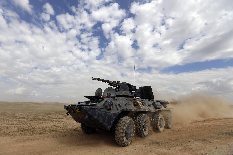 L'armée irakienne, appuyée par la force Qods, unité d'élite de l'armée iranienne, et par du matériel turc, avance dans la province de Salah ad-Din, pour déloger les membres du groupe Etat islamique de la ville Tikrit.