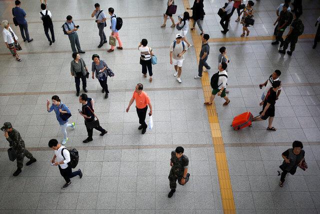 韩国首尔火车站2016年7月26日