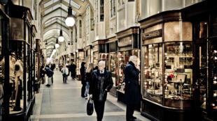 O mercado de luxo em Londres.