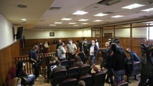 Le tribunal spécial de Sofia en Bulgarie, le 21 septembre 2020.