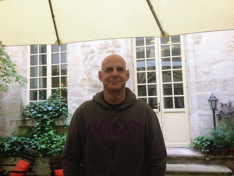L'écrivain américain Harlan Coben de passage à Paris, en octobre 2017.