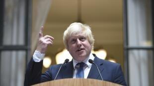 Boris Johnson, ministro dos Negócios Estrangeiros britânico.