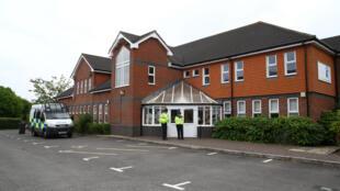 Centro batista de Amesbury, um dos locais frequentados pelo casal britânico hospitalizado por envenenamento com Novitchok.