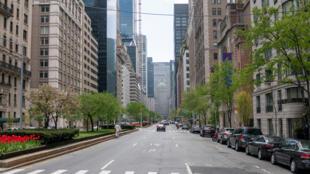 La ville de New York est réduite au silence pendant le confinement.