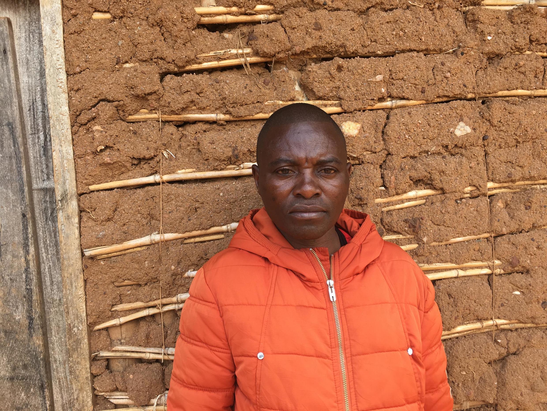 Filemon Mwindo Tasakana, civil society leader in Bingo, a small town in the North Kivu region of eastern DRC