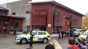 瑞典发生攻击案的学校  2015年10月22号