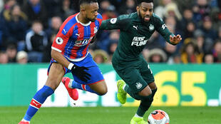 "Newcastle defender Danny Rose (right) says Premier League players are being treated like ""lab rats"""