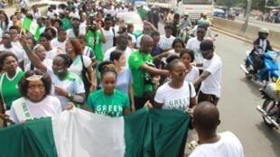 Nigeria : Green walk for independance