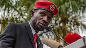 Mkosoaji mkubwa wa rais Museveni na mwanasiasa wa upinzani Bobi Wine.