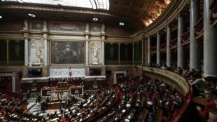 Quốc Hội Pháp trong phiên họp toàn thể, Paris, ngày 11/02/2020