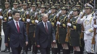 普京5月20日抵達中國上海