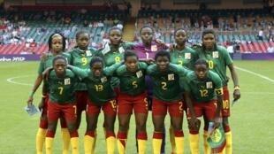 Национальная сборная Камеруна по женскому футболу 25/07/2012
