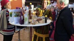 Le carré des exposants ivoiriens au Salon de l'agriculture de Paris.
