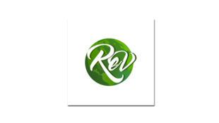 Logo REV, Rassemblement des écologistes pour le vivant.