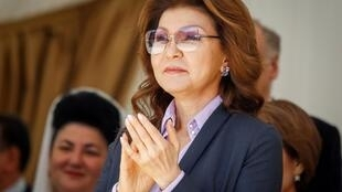 Dariga Nazarbaïeva le 1er mai 2016.