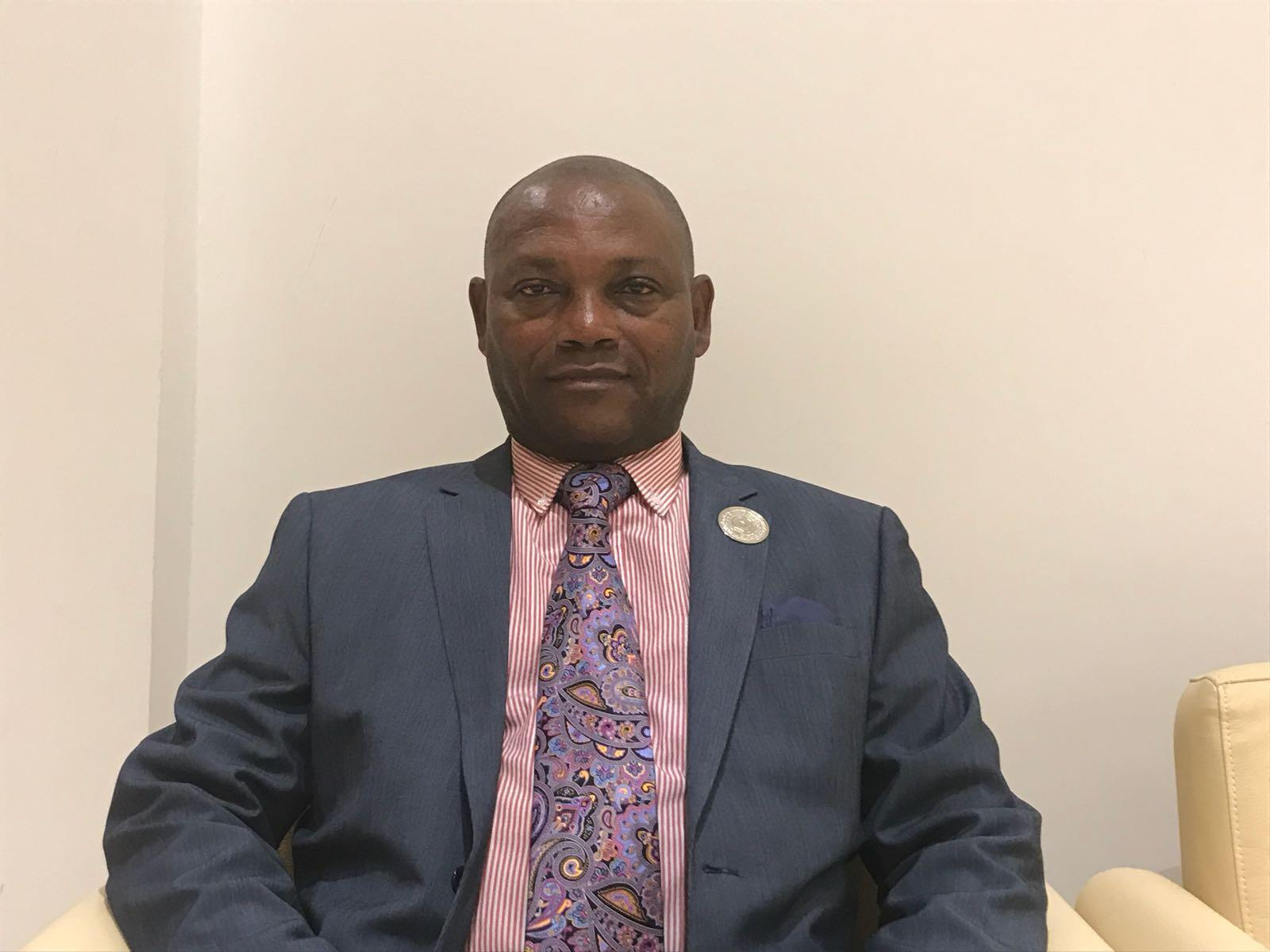 Urbino Botelho, ministro dos Negócios Estrangeiros de São Tomé e Príncipe.