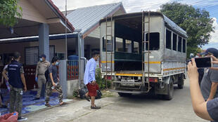Thailande - Journalistes Birmans arrêtés - AP21131167070980