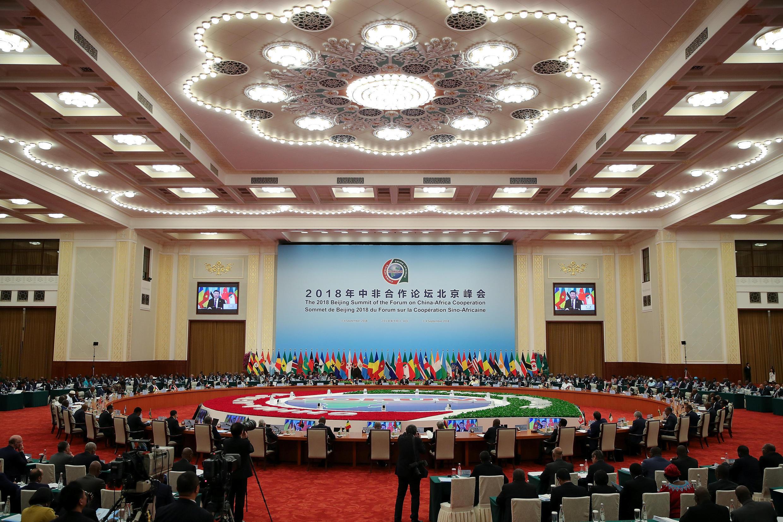Aspecto do 7° Fórum de Cooperação China - África, que decorreu em Pequim nos dias 3 e 4 do corrente mês.