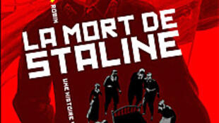 La couverture de la BD « La mort de Staline »