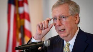 """Bỏ phiếu dự luật cải tổ y tế, thay thế Obamacare: Thượng nghị sĩ McConnell tuyên bố """"bỏ cuộc""""."""