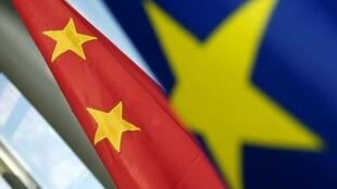 Drapeaux Chine - Europe