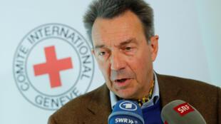 پیتر مائورو، رئیس کمیته بین المللی صلیب سرخ
