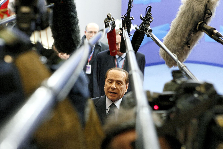 ប្រមុខរដ្ឋាភិបាលអ៊ីតាលី លោក Silvio Berlusconi 