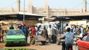 Vue du marché de Bobo-Dioulasso.