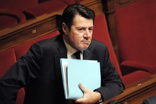 Nice mayor Christian Estrosi.