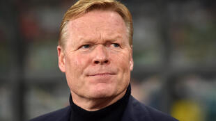 """Crisis-hit Barcelona hailed the """"return of a legend"""" as the Spanish giants on Wednesday officially named Ronald Koeman as their new coach through until 2022"""