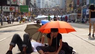 Le mouvement des parapluies est considéré comme un préambule au mouvement pro-démocratie que connaît actuellement Hong Kong (Photo d'illustration).
