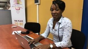 Sidonie Latère fondatrice de l'incubateur Kobo Hub