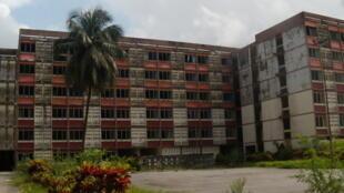 Cité rouge, campus universitaire de l'université de Cocody (Abidjan, Côte d'Ivoire)