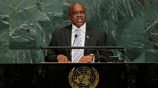 Mokgweetsi Masisi, Presidente do Botsuana.