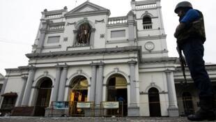 سنت آنتونی، در شرق سریلانکا که روز ۲۱ آوریل ۲۰۱۹ (در روز عید پاک)، یکی از اهداف رشته بمبگذاریها در سرتاسر سریلانکا بود.