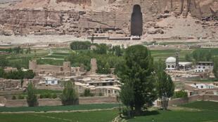 La vallée de Bamiyan.