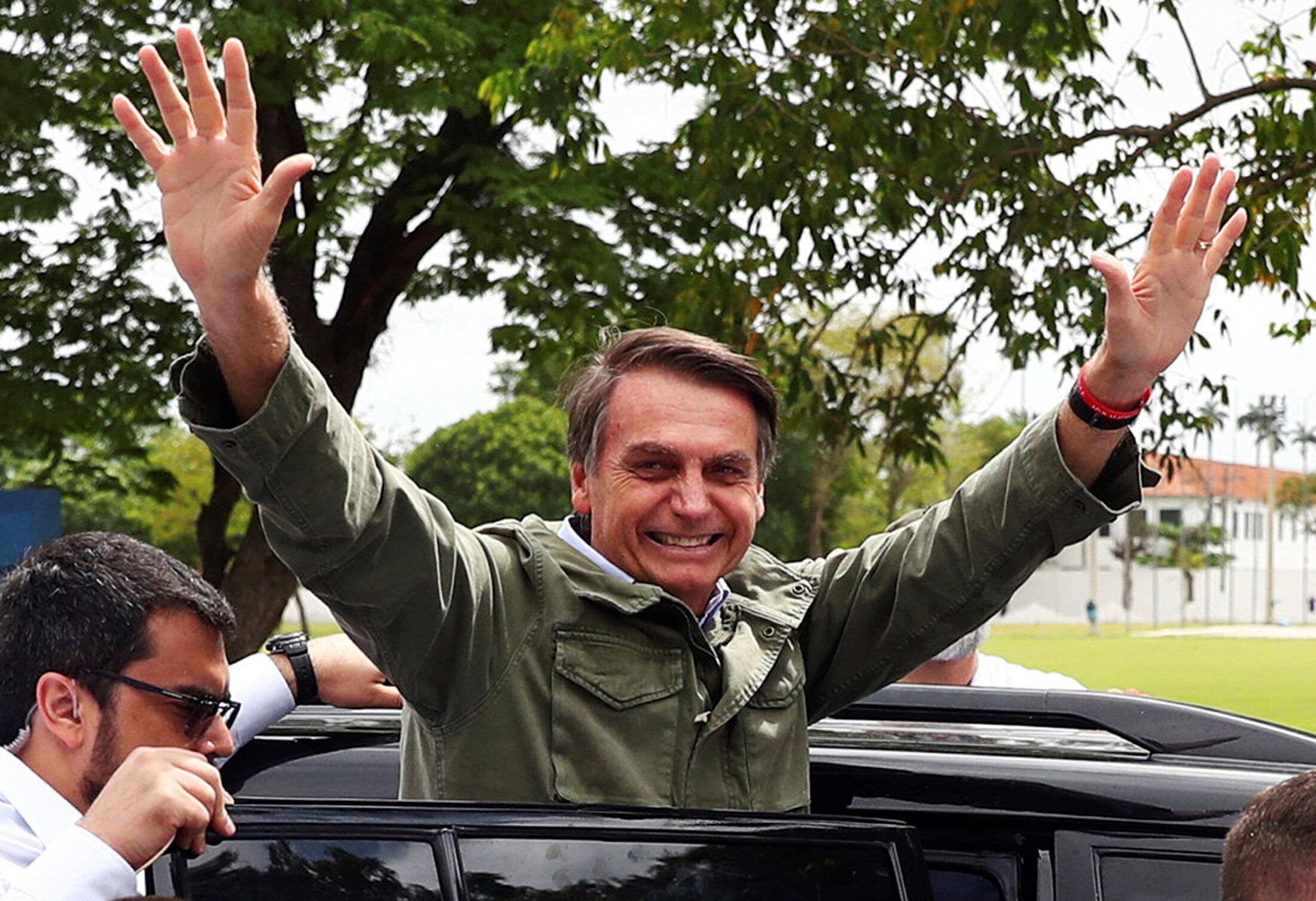 Jair Bolsonaro, Rio de Janeiro mnamo Oktoba 28, 2018.