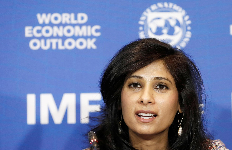 国际货币基金组织的首席经济学家吉塔·戈皮纳特(Gita Gopinath),2019年7月。