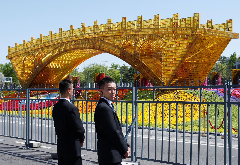 """2019年4月26日,中國在北京人大會堂舉行第二屆""""一帶一路""""國際合作高峰論壇。"""