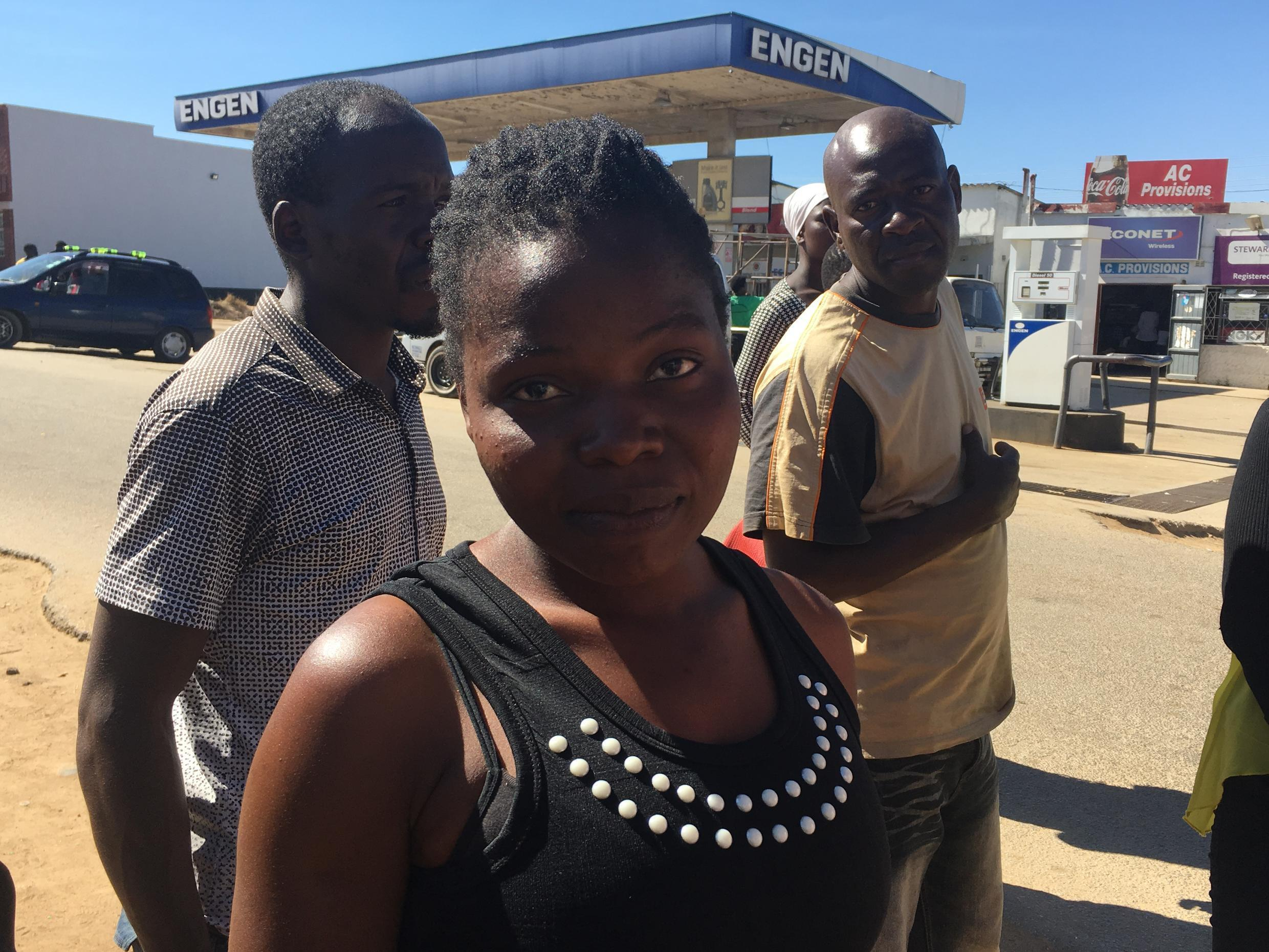 MoBlessed Momberare from Buhera village in Manicaland Province says she's voting because she wants a better economy